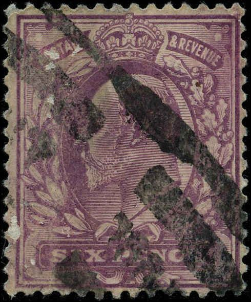 great britain 1902 stamps definitive used sg 245 cv  26 00
