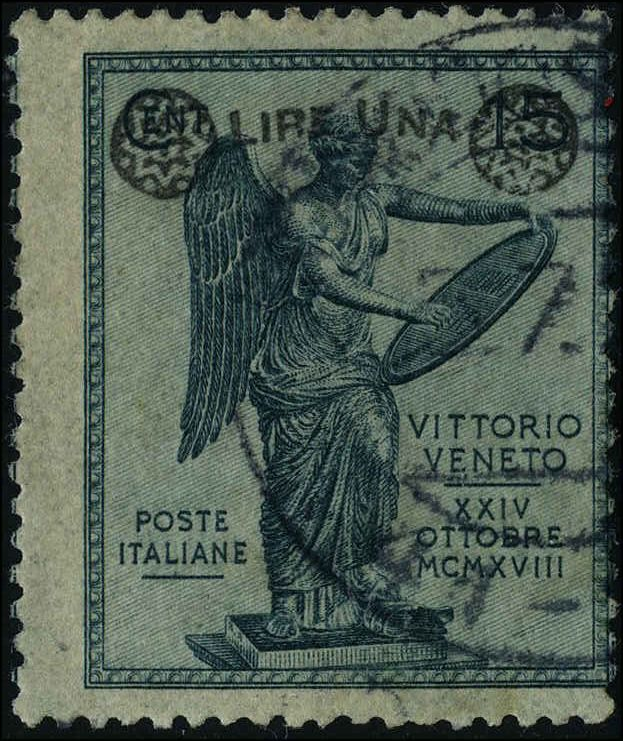 Italy 1923 stamps commemorative USED Sas 160 CV $412.50 ...